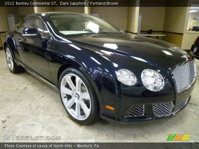 2012 Bentley Continental GT  in Dark Sapphire