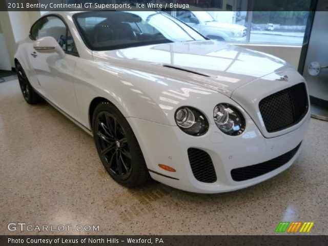 2011 Bentley Continental GT Supersports in Ice White