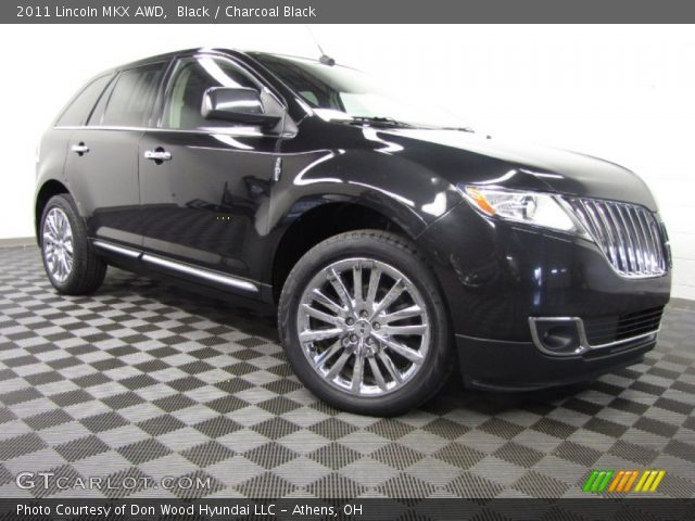 2011 Lincoln MKX AWD in Black