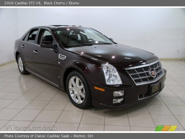 2009 Cadillac STS V8 in Black Cherry
