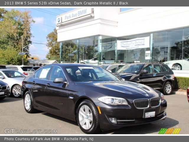 dark graphite metallic ii 2013 bmw 5 series 528i xdrive sedan black interior. Black Bedroom Furniture Sets. Home Design Ideas