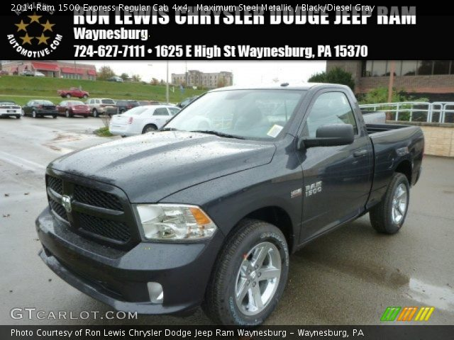 2014 Ram 1500 Express Regular Cab 4x4 in Maximum Steel Metallic