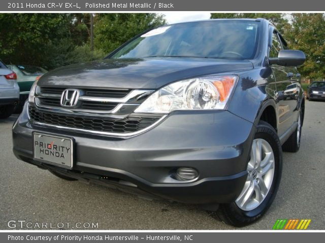 polished metal metallic 2011 honda cr v ex l black interior vehicle archive. Black Bedroom Furniture Sets. Home Design Ideas