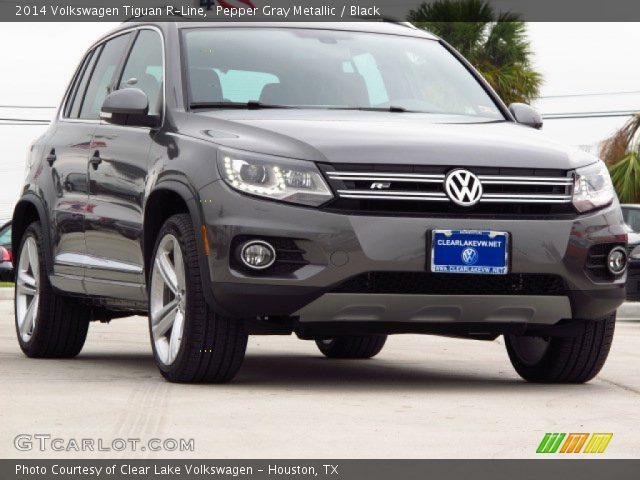 Pepper Gray Metallic - 2014 Volkswagen Tiguan R-Line ...