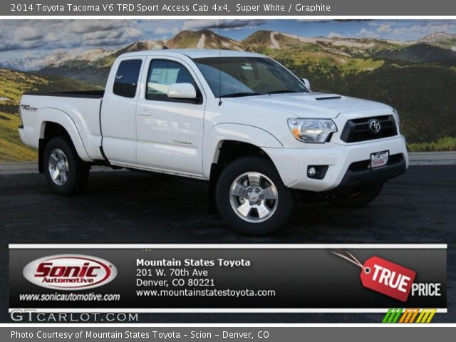 white 2014 toyota tacoma access cab autos post. Black Bedroom Furniture Sets. Home Design Ideas
