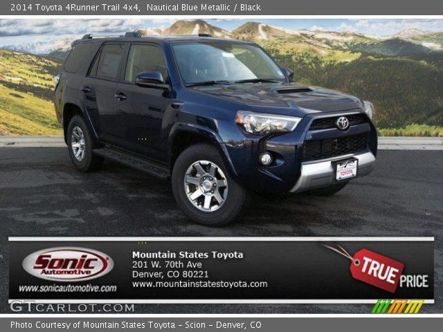 2014 Toyota 4runner Trail 4x4