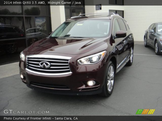 midnight garnet 2014 infiniti qx60 3 5 awd java. Black Bedroom Furniture Sets. Home Design Ideas