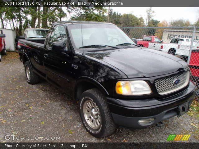 2001 Ford F150 XLT Regular Cab 4x4 in Black