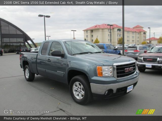 stealth gray metallic 2008 gmc sierra 1500 sle extended. Black Bedroom Furniture Sets. Home Design Ideas