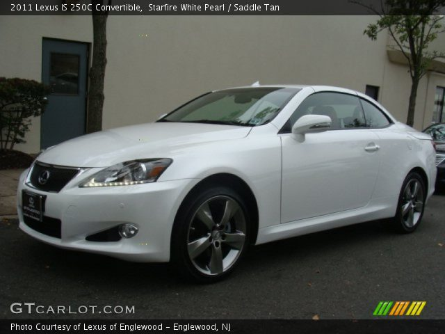 starfire white pearl 2011 lexus is 250c convertible. Black Bedroom Furniture Sets. Home Design Ideas