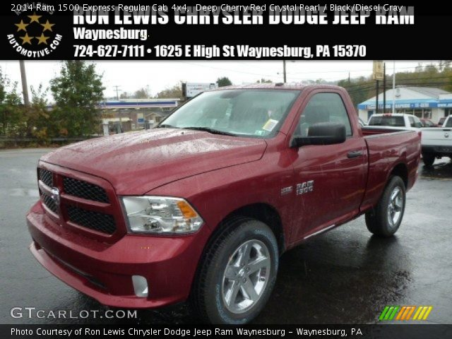 2014 Ram 1500 Express Regular Cab 4x4 in Deep Cherry Red Crystal Pearl