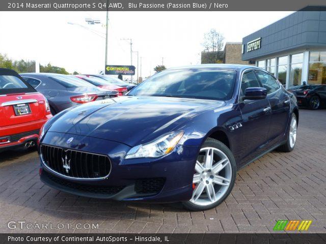 2014 Maserati Quattroporte S Q4 AWD in Blu Passione (Passion Blue)