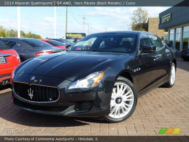 2014 Maserati Quattroporte S Q4 AWD in Nero Ribelle (Black Metallic)