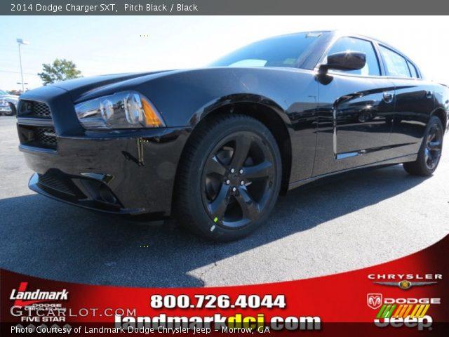 Pitch Black 2014 Dodge Charger Sxt Black Interior Vehicle Archive 87274565