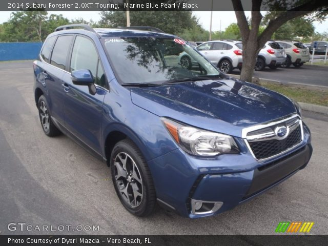 2014 Subaru Forester 2.0XT Touring in Marine Blue Pearl