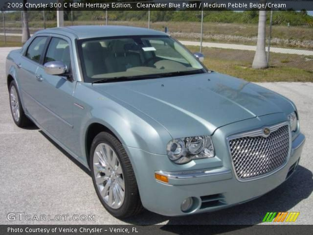 2009 Chrysler 300 C HEMI Heritage Edition in Clearwater Blue Pearl