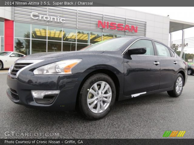 Super Black 2014 Nissan Altima 2 5 S Charcoal Interior Vehicle Archive