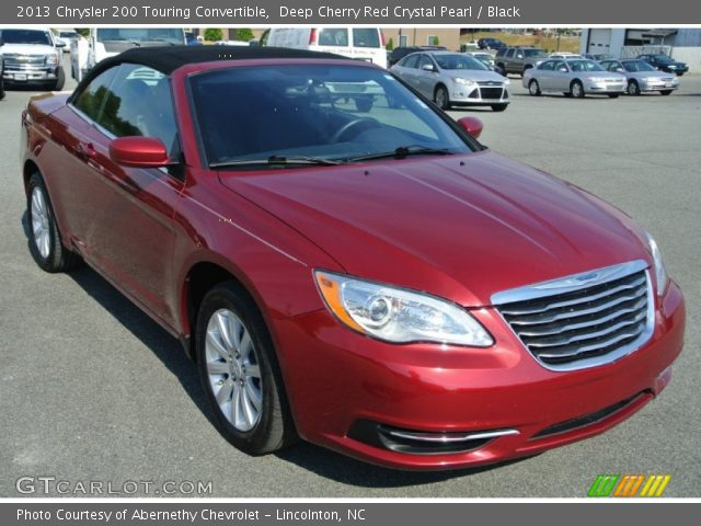 Deep Cherry Red Crystal Pearl 2013 Chrysler 200 Touring