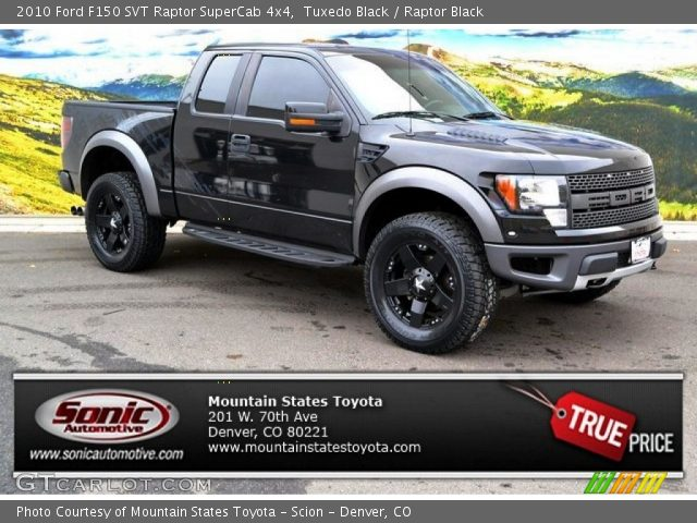 2010 ford f150 svt raptor supercab 4x4 with raptor black interior - Ford F150 Raptor Black Interior