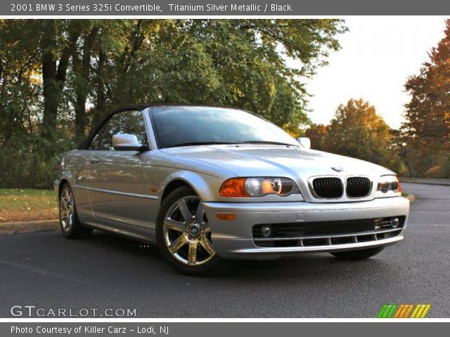 2001 BMW 3 Series 325i Convertible in Titanium Silver Metallic