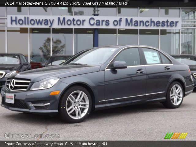 2014 Mercedes-Benz C 300 4Matic Sport in Steel Grey Metallic