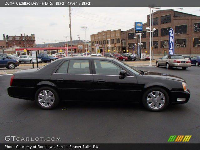 Black Raven 2004 Cadillac Deville Dts Black Interior Vehicle Archive 87418862