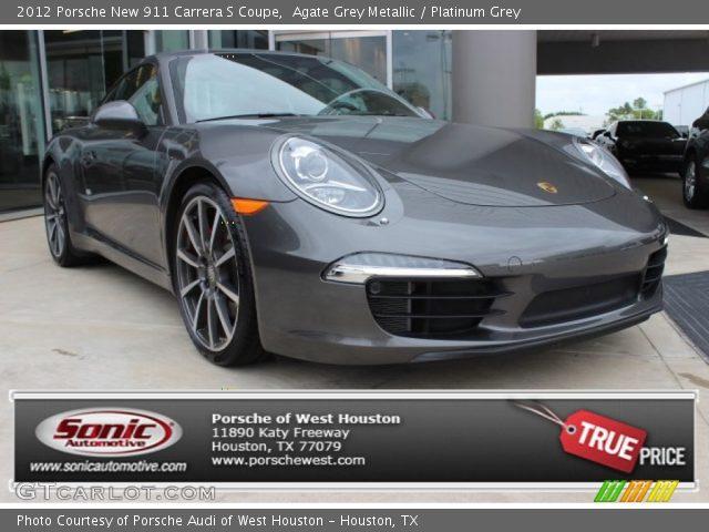 2012 Porsche New 911 Carrera S Coupe in Agate Grey Metallic