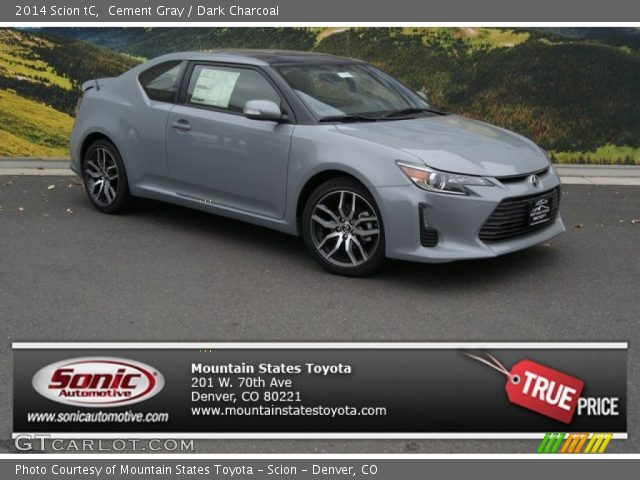 Scion Cement Grey : Scion tc cement grey metallic autos post