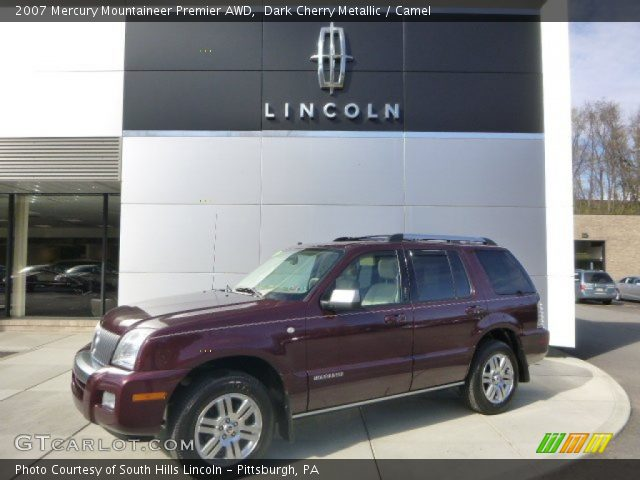 2007 Mercury Mountaineer Premier AWD in Dark Cherry Metallic