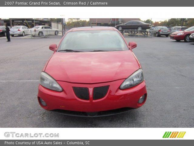 2007 Pontiac Grand Prix Sedan in Crimson Red