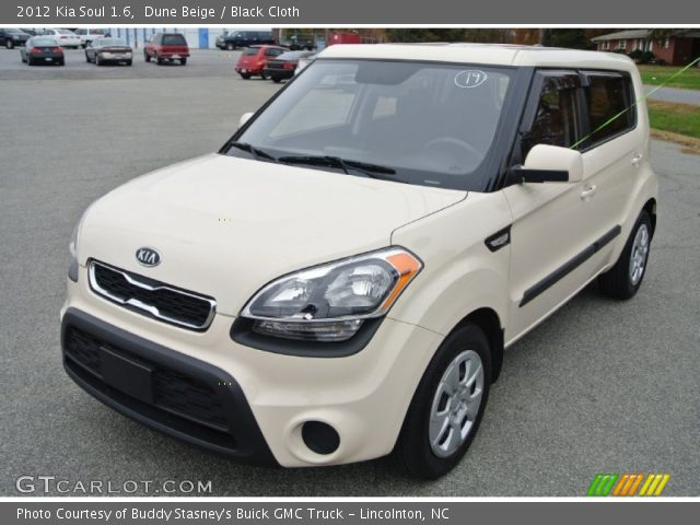 Dune beige 2012 kia soul 1 6 black cloth interior vehicle archive 87618385 2012 kia soul exterior colors