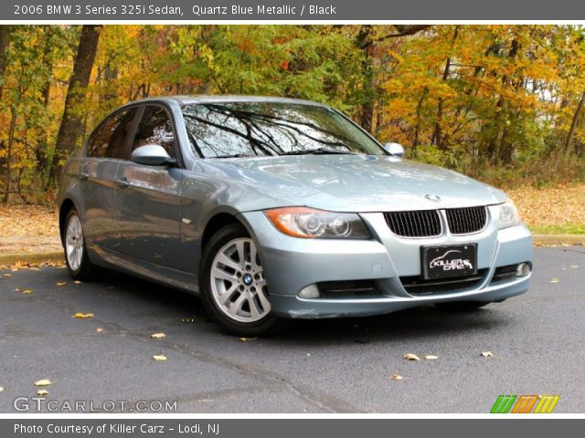 quartz blue metallic 2006 bmw 3 series 325i sedan. Black Bedroom Furniture Sets. Home Design Ideas
