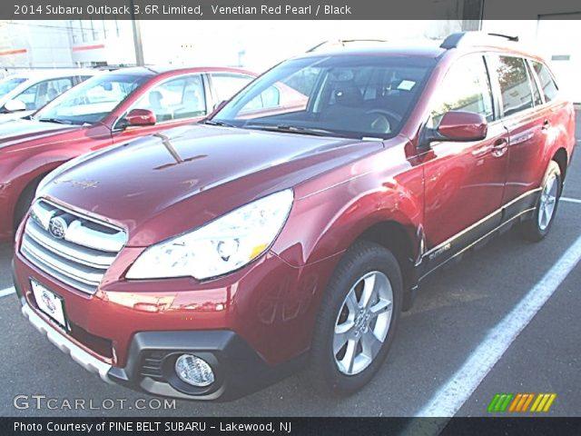 venetian red pearl 2014 subaru outback 3 6r limited black interior vehicle. Black Bedroom Furniture Sets. Home Design Ideas