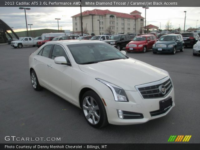 2013 Cadillac ATS 3.6L Performance AWD in White Diamond Tricoat