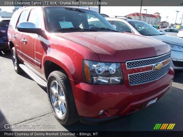 Crystal Red Tintcoat 2014 Chevrolet Tahoe Ltz 4x4