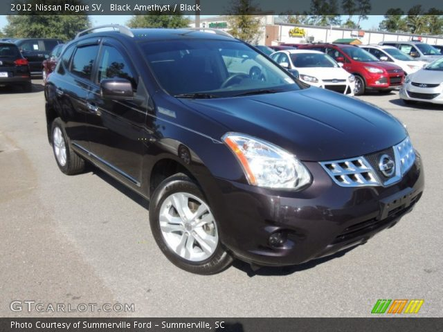 Black amethyst 2012 nissan rogue sv black interior - 2012 nissan rogue exterior colors ...