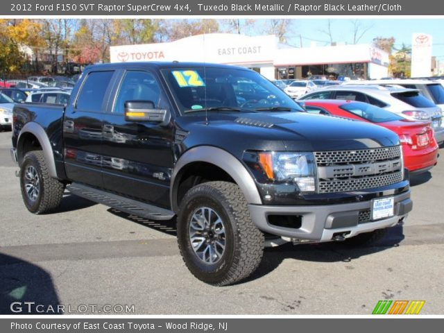 2012 Ford F150 SVT Raptor SuperCrew 4x4 in Tuxedo Black Metallic