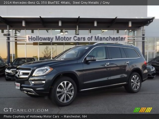 steel grey metallic 2014 mercedes benz gl 350 bluetec. Black Bedroom Furniture Sets. Home Design Ideas