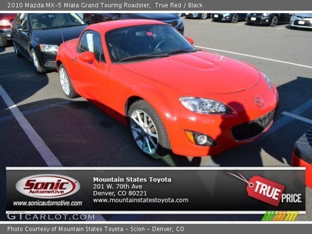 true red 2010 mazda mx 5 miata grand touring roadster. Black Bedroom Furniture Sets. Home Design Ideas