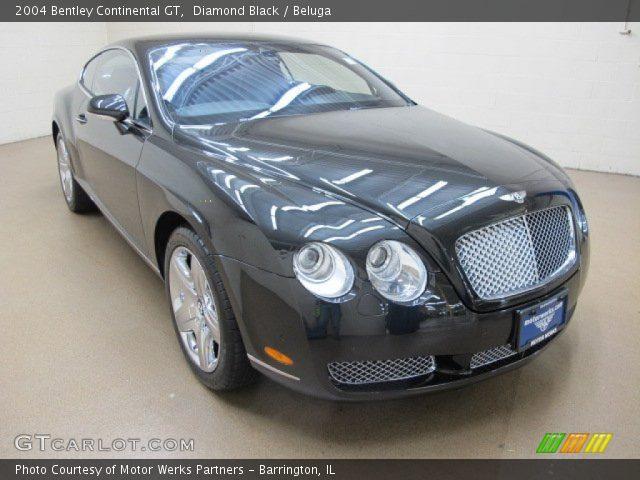 2004 Bentley Continental GT  in Diamond Black