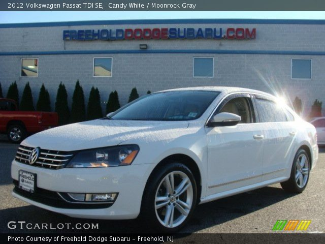 candy white 2012 volkswagen passat tdi se moonrock gray interior vehicle. Black Bedroom Furniture Sets. Home Design Ideas