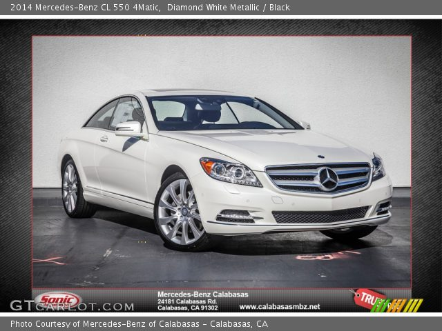 diamond white metallic 2014 mercedes benz cl 550 4matic. Black Bedroom Furniture Sets. Home Design Ideas