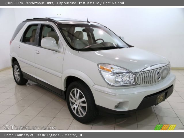 2005 Buick Rendezvous Ultra in Cappuccino Frost Metallic