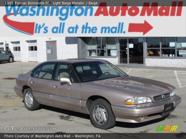 light beige metallic 1995 pontiac bonneville se beige. Black Bedroom Furniture Sets. Home Design Ideas