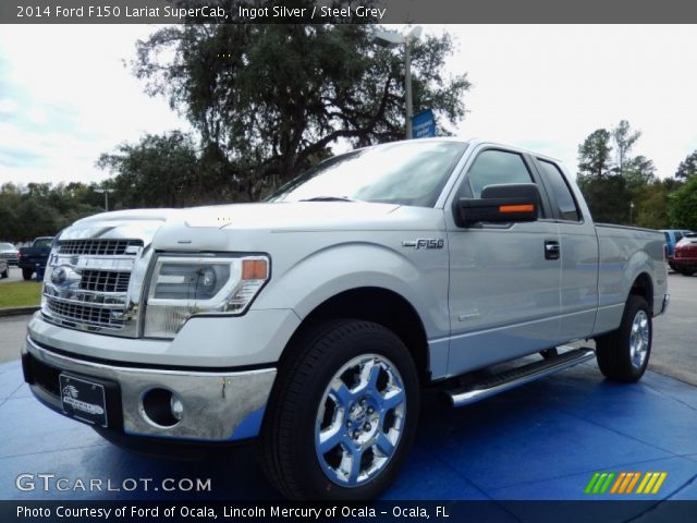 2006 Ford F150 Lariat For Sale >> Ingot Silver - 2014 Ford F150 Lariat SuperCab - Steel Grey ...