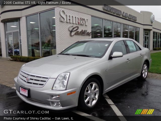2006 Cadillac STS V8 in Light Platinum