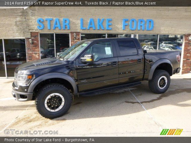 2014 ford f150 svt raptor supercrew 4x4 in tuxedo black - Black Ford F150 Raptor 2014