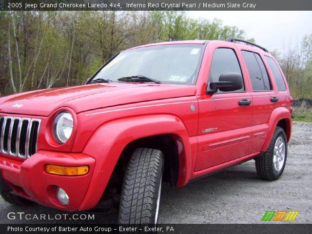 Inferno red crystal pearl 2005 jeep grand cherokee - 2005 jeep grand cherokee laredo interior ...