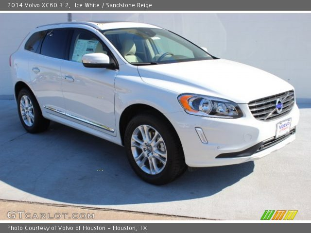 Ice White - 2014 Volvo XC60 3.2 - Sandstone Beige Interior | GTCarLot.com - Vehicle Archive ...