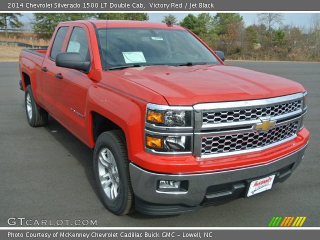 2014 Chevrolet Silverado 1500 LT Double Cab in Victory Red